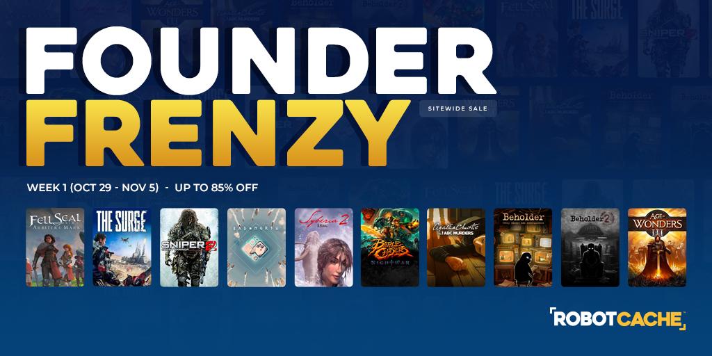 Founder Frenzy Sale