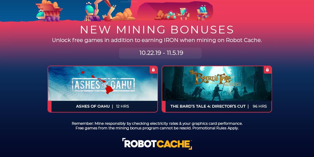 Mining Bonuses