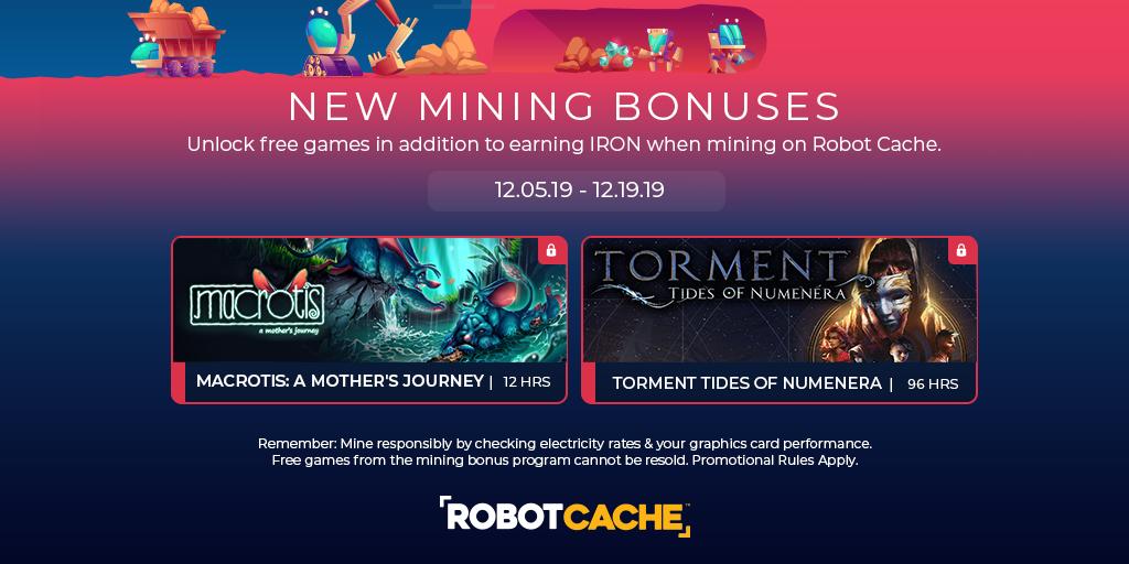 New Mining Bonuses Released