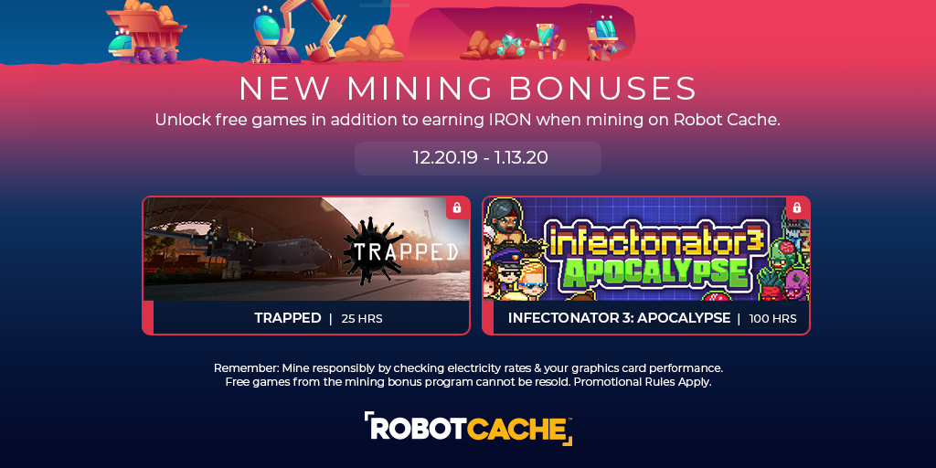 Happy Holidays - New Mining Bonuses Released